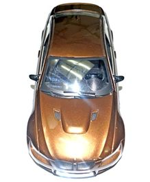 Adraxx Brown Remote Control Sports Car With Headlights