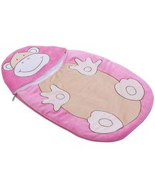 Sapphire Frog Shape Pink Sleeping Bag