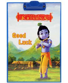 PEP India Exam Pad Little Krishna Navy Blue
