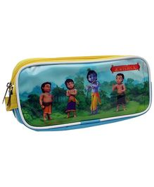 PEP INDIA 3 Zipper Multi Purpose Pouch Little Krishna Print