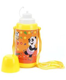PEP INDIA Panda Yellow Sipper Bottle - 500 ml