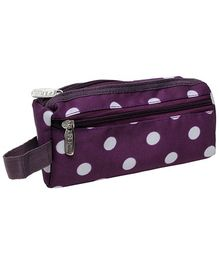 Pep India Trendy Multi Purpose Pouch Polka Dots Print