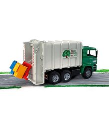 Bruder MAN TGA Rear Loading Garbage Truck