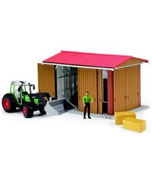 Bruder Farming Machine Hall With Figure