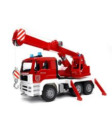 Bruder Man Fire Engine Crane Truck With Light And Sound