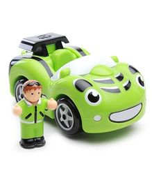 Wow Special Edition Sports Friction Car - Green