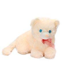 Tickles Cream Sitting Puppy - 26 Cm