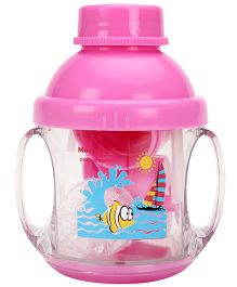 Baby Dreams 5 in 1 Twin Handle Feeding Cup- Pink