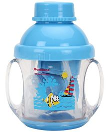 Baby Dreams 5 in 1 Twin Handle Feeding Cup- Blue