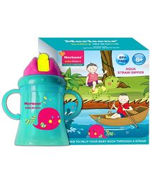 Morisons Baby Dreams Aqua Straw Sipper Green - 180 ml