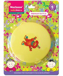Morisons Baby Dreams Premium Rattle Daffli (Color May Vary)