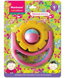 Morisons Baby Dreams Premium Rattle Flower (Color May Vary)