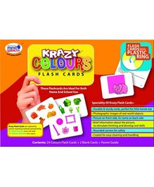Krazy Colours Flash Cards With Ring