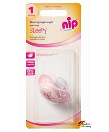 Nip Sleepy Silicone Soothers Single Blister
