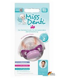 Nip Miss Denti Soothers Purple - Size 2 First Teeth