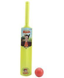 Funfactory Chhota Bheem Cricket Bat And Ball Set Small