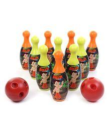 Funfactory Chhota Bheem Bowling Set Multicoloured