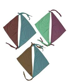 JO Kidswear Multi Color Cloth Nappies - Set Of Five