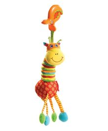 Tiny Love Tiny Smarts Jittering Giraffe Attachable Soft Toy - 22 cm