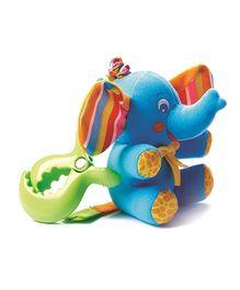 Tiny Love Tiny Smarts Eli Elephant Attachable Soft Toy