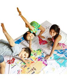 Cocomoco Kids Hop Around The World Giant World Map Game