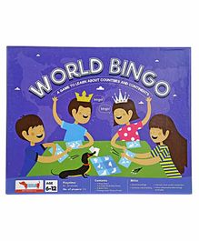 Cocomoco Kids World Bingo Game