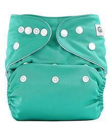 Bumberry Pocket Cloth Diaper With One Microfiber Insert - Green
