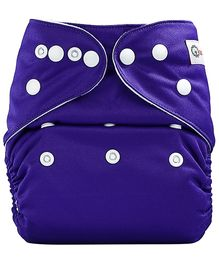 Bumberry Pocket Cloth Diaper With One Microfiber Insert - Purple
