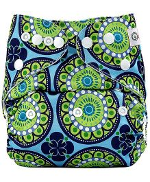 Bumberry Pocket Cloth Diaper With Microfiber Insert Green
