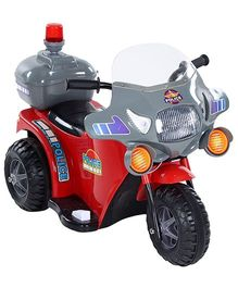 Battery Operated Bike Ride On - Red N Grey