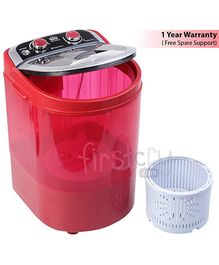 DMR MiniWash Portable Washing Machine - Red
