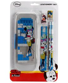 Mickey Mouse And Friends Stationary Set Grey