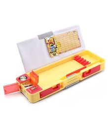 Winnie The Pooh Multi Functional Pencil Box Yellow