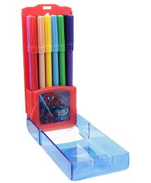 Spider Man Colour Pen - 12 Piece