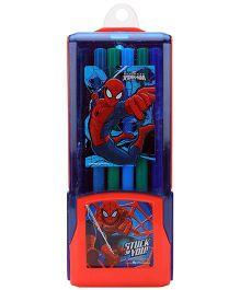 Spider Man Colour Pen - Set Of 12