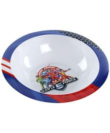 Hotwheels Battle 5 Force Round Bowl - White