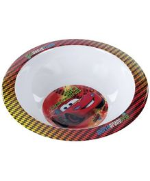 Disney Pixar Cars Print Bowl - Red