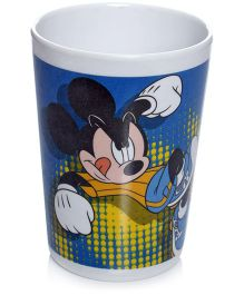 Mickey Mouse And Friends Blue Tumbler