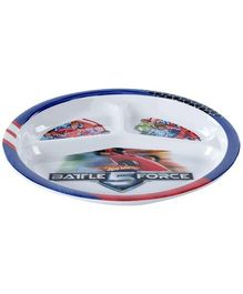 Hotwheels Battle Force Section Plate - Blue