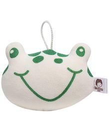 Frog Shape Bath Sponge - Green