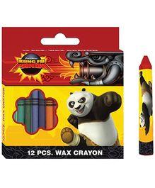 Kung Fu Panda Wax Crayons - Set of  12