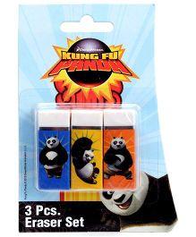 Kung Fu Panda 3 Pieces Eraser Set