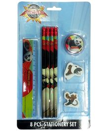 Kung Fu Panda 8 Pieces Statioenry Set