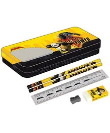 Kung Fu Panda Paws Power Compass Box - Yellow and Black
