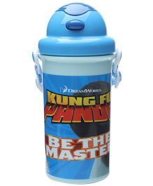 Kung Fu Panda Blue Sipper Water Bottle - 500 ml