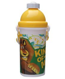 Madagascar Yellow Sipper Water Bottle - 500 ml