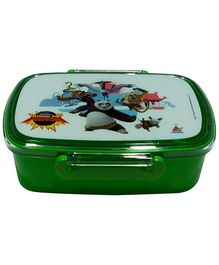 Kung Fu Panda Lunch Box - Dark Green