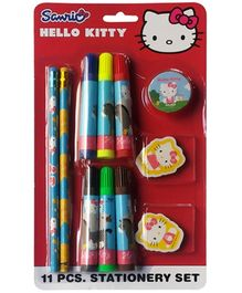 Hello Kitty Stationery Set of 11 Pieces