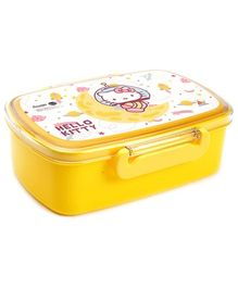 Hello Kitty Yellow Lunch Box