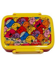 Mr Men and Little Miss Lunch Box - Yellow